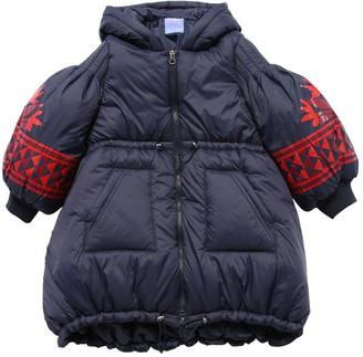 Stella Jean Nylon Down Jacket W/ Hood