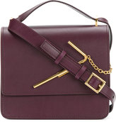 Sophie Hulme straw detail shoulder bag