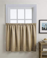 """CHF Addison 56"""" x 36"""" Pair of Tier Curtains"""
