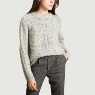 Suncoo Gray Polyester Pablo Sweater - 1 | polyester | gray