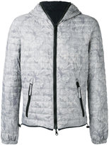 Duvetica floral-print quilted jacket