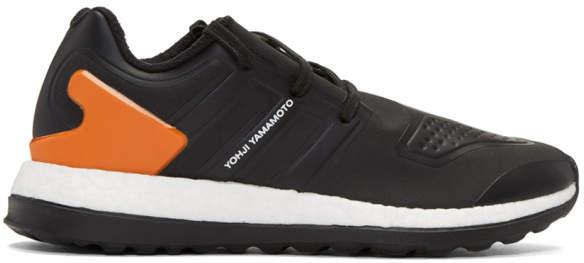 Y-3 Y 3 Black Pureboost ZG Sneakers