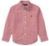 Ralph Lauren Childrenswear Gingham Cotton Poplin Shirt