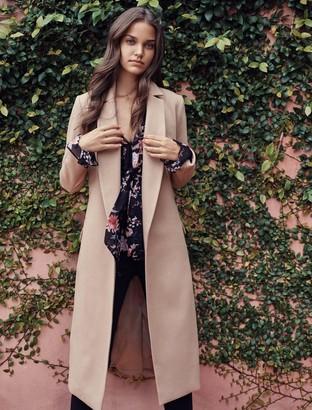 Forever New Ellen maxi coat - Camel - 4