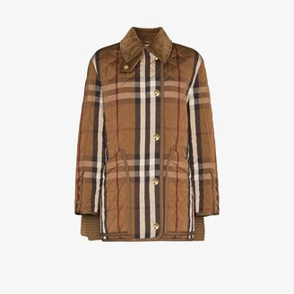 Burberry Vintage check quilted jacket