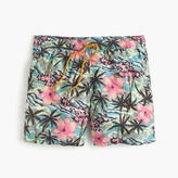 "J.Crew 6"" Swim Trunk In Tropical Floral"