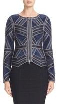 Herve Leger Women's Bethanie Jacquard Jacket