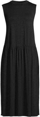 Eileen Fisher Trapeze Midi Dress