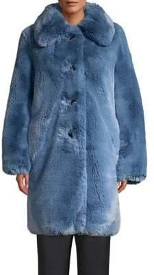 Marc Jacobs Plush Faux Fur Teddy Coat