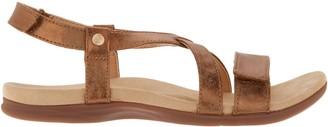 Spenco Orthotic Cross Strap Sandals - Grace