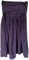 agnès b. Navy Cotton Skirt for Women