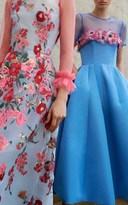 Carolina Herrera Floral Bouquet Gown