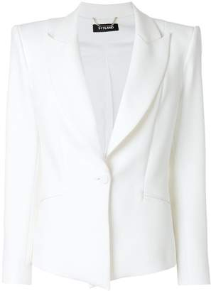 Styland structured button up blazer