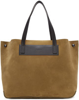 Rag & Bone Brown Suede Compass Everyday Tote