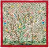 Gucci Tian silk scarf