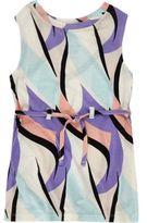 River Island Mini girls purple print tunic