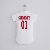 My 1st Years Personalised Football Bodysuit