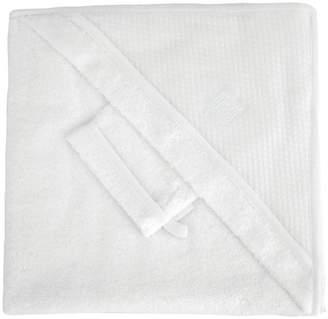 Red Castle Apron Bath Towel (0-36 Months, White)