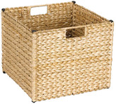 Household Essentials Wicker Banana Leaf Storage Bin