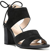 Franco Sarto Gem Suede Reptile Block Heel Dress Sandals