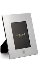 Roberto Cavalli Monogram Silver Plate Picture Frame - 4x6