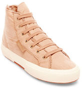 Superga Lace-Up High-Top Sneakers