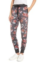 Splendid Women's Chelsea Rose Print Jogger Pants