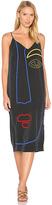 Mara Hoffman Georgia Slip Dress in Charcoal. - size L (also in M,S,XS)