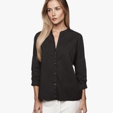 James Perse Double Layer Cotton Shirt