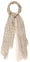 Calvin Klein Collection Silk Printed Scarf