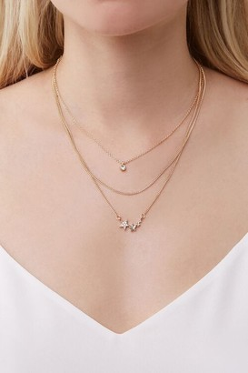 Forever 21 Star Charm Layered Necklace