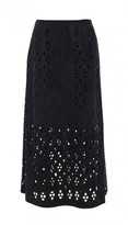 Tibi Aleyda Cutout Long Skirt