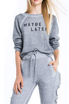 Wildfox Couture Maybe Later Sweatshirt