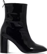 Kg Kurt Geiger Strut patent-leather ankle boots