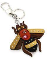 Gucci Crystal Bee Keychain