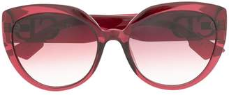 Christian Dior pink tinted sunglasses
