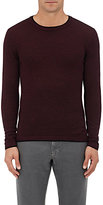 Barneys New York MEN'S MÉLANGE WOOL SWEATER