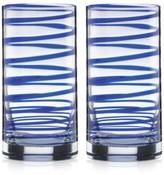 Kate Spade Charlotte Street Highball Glasses, Set of 2