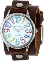 Nemesis Women's BGB108W Colorful Different Color Numbers Watch