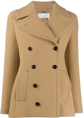 Chloé Double-Breasted Jacket