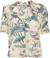 Stella Jean Waterlily Print Shirt
