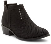 Restricted Nadia Perforated Ankle Bootie