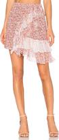 No.21 No. 21 Ruffle Floral Skirt