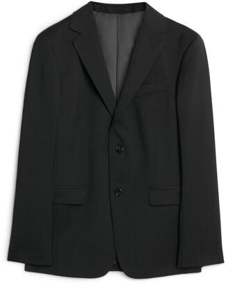 Arket Classic Blazer Plain Weave