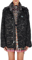 Marc Jacobs Women's Camouflage Cotton Embellished Anorak