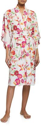 Natori Seville Floral-Print Robe