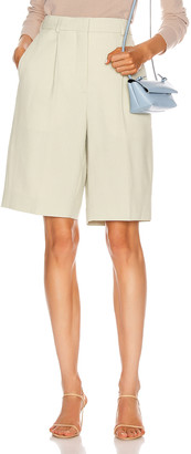 Acne Studios Tailored Short in Pastel Green | FWRD