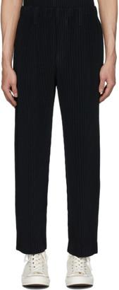 Issey Miyake Homme Plisse Black Basics Trousers