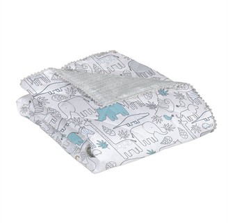 Living Textiles Lolli Living 4-PieceCrib Bedding Set Safari