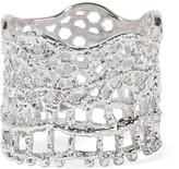 Aurelie Bidermann Lace Silver-plated Ring